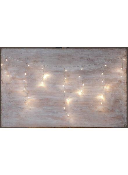 LED kerstverlichtingssnoer ijspegel - 25590025 - HEMA