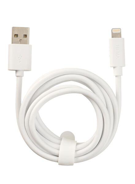 USB laadkabel 8-pin - 39630046 - HEMA