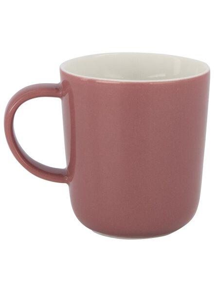 koffiemok Chicago 130 ml oudroze - 9602102 - HEMA