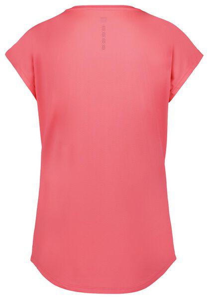 dames sportshirt loose fit roze S - 36060141 - HEMA