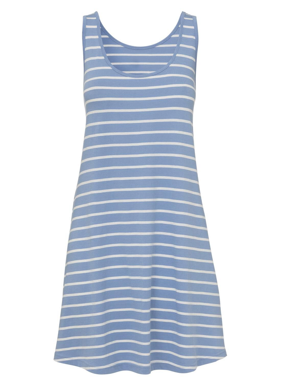 HEMA Dames Nachthemd Felblauw (felblauw)