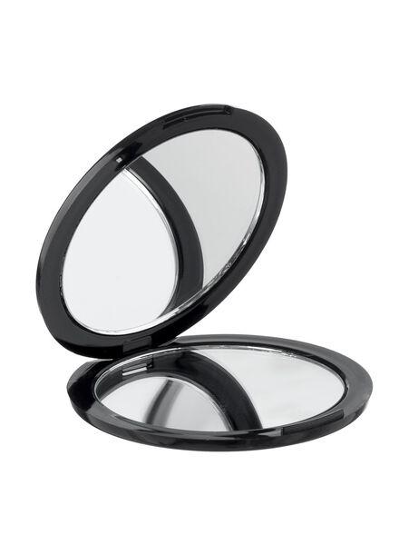 vouw spiegeltje zwart - 11821034 - HEMA