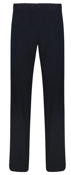 herenpyjama badstof strepen donkerblauw donkerblauw - 1000025091 - HEMA