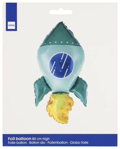 folieballon 80 cm - ruimteraket - 14210148 - HEMA
