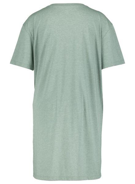 dames nachthemd legergroen legergroen - 1000015499 - HEMA