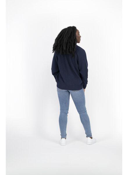 damesvest donkerblauw donkerblauw - 1000014343 - HEMA
