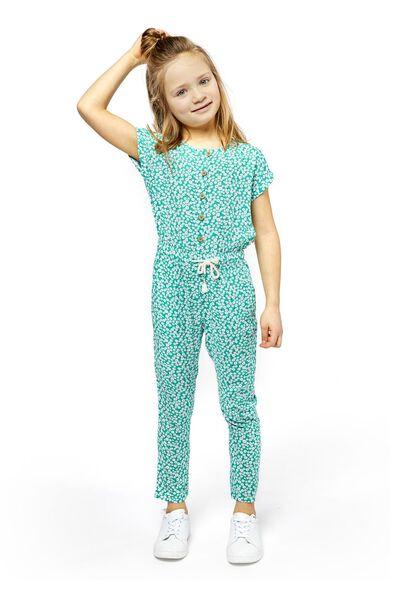 kinder jumpsuit groen - 1000018990 - HEMA