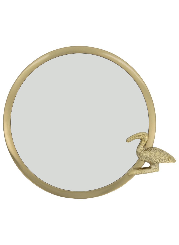 HEMA Spiegel Met Ibis Ø 18 Cm – Goud (goud)