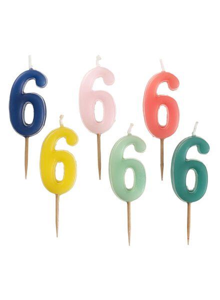 cijferkaars 6 - 14230055 - HEMA