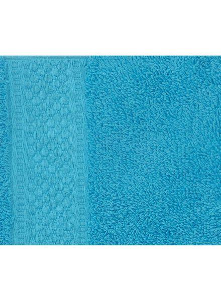 handdoek - 50 x 100 cm - zware kwaliteit - aqua - 5212605 - HEMA