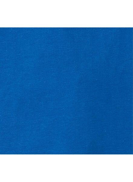 2-pak kinderhemden middenblauw middenblauw - 1000011622 - HEMA