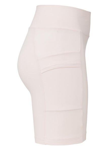 dames fietsshort real lasting cotton roze roze - 1000013472 - HEMA