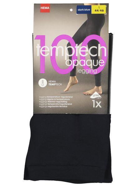 dames legging 100 denier donkerblauw donkerblauw - 1000001128 - HEMA