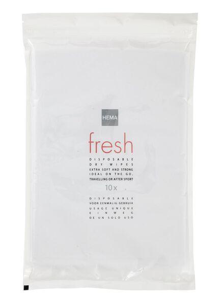 10-pak wegwerp washandjes - 11510031 - HEMA
