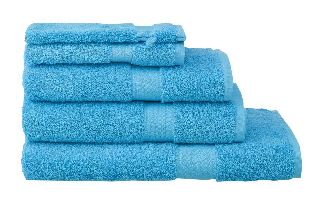 HEMA Handdoeken - Zware Kwaliteit Aqua (aqua)