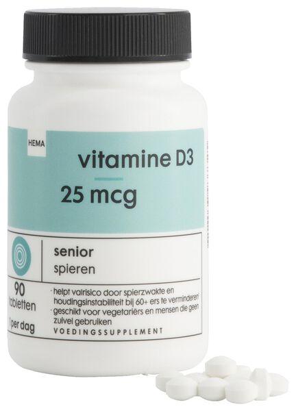 vitamine D3 25mcg - 90 stuks - 11402192 - HEMA