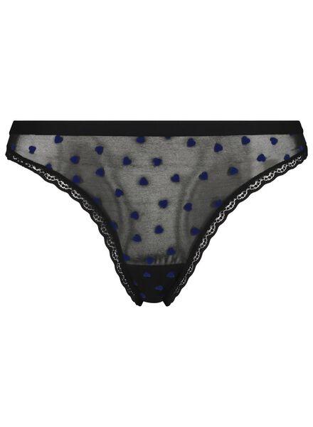 damesstring blauw blauw - 1000017329 - HEMA