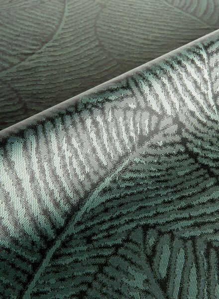 gordijnstof assen blad verduisterend - 7250094 - HEMA