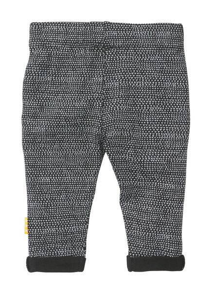 newborn broek zwart zwart - 1000008461 - HEMA