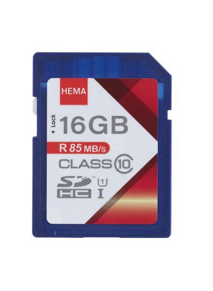 SD geheugenkaart 16 GB - 39520008 - HEMA