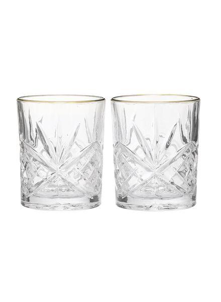 2-pak whiskyglazen - 60080119 - HEMA