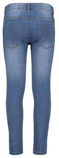kinder jeans regular fit middenblauw middenblauw - 1000017876 - HEMA