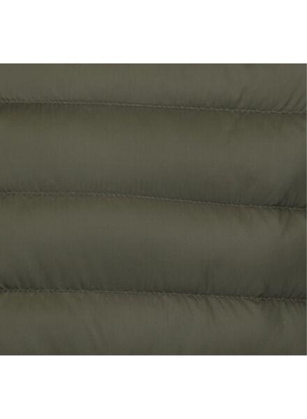 herenjack met capuchon - gewatteerd groen groen - 1000014896 - HEMA