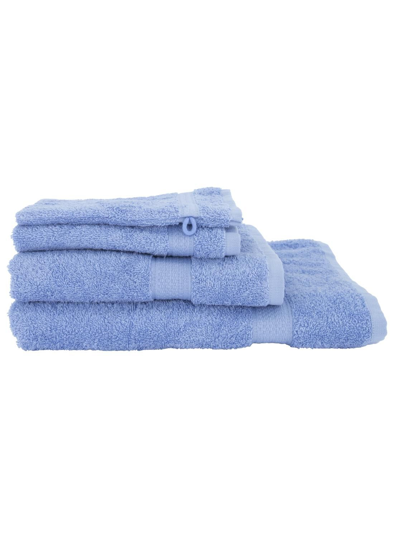 HEMA Handdoek - Zware Kwaliteit Blauw (blauw)
