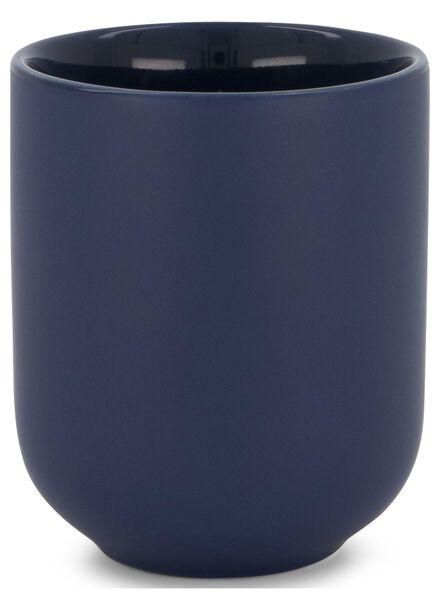 mok - Ø 7 cm - donkerblauw - 9602072 - HEMA