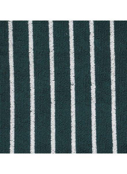 handdoek - 70 x 140 - zware kwaliteit - groen streep - 5210027 - HEMA