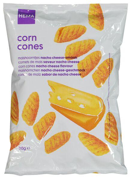 maïssnack nacho cheese 110g - 10648442 - HEMA