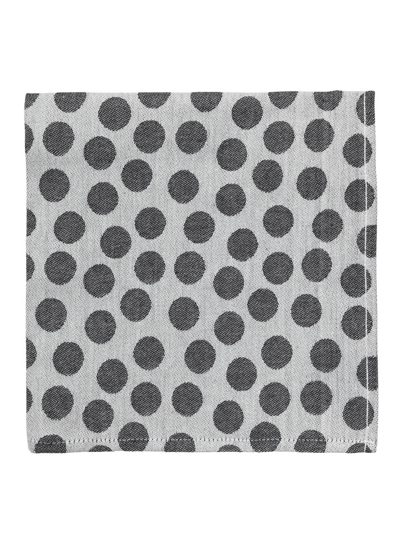HEMA Keukendoek 65 X 65 Cm (noir/blanc)