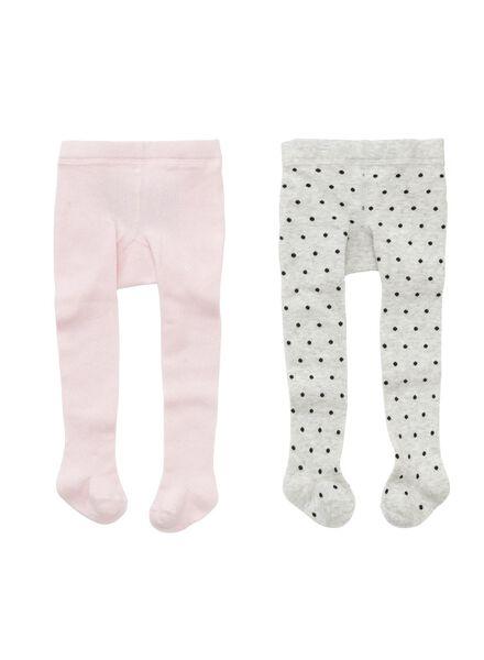 2-pak baby maillots roze roze - 1000002153 - HEMA