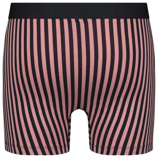 herenboxer lang - katoen/stretch roze roze - 1000022823 - HEMA