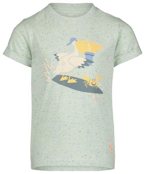 kinder t-shirt groen - 1000019450 - HEMA