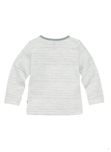 newborn t-shirt gebroken wit gebroken wit - 1000005568 - HEMA