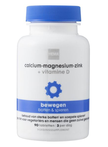Calcium-Magnesium-Zink + Vitamine D - 11401500 - HEMA