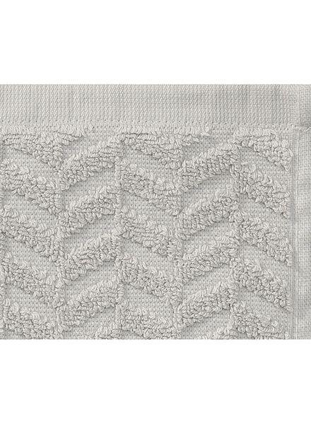 handdoek zware kwaliteit 50 x 100 - lichtgrijs - 5240185 - HEMA