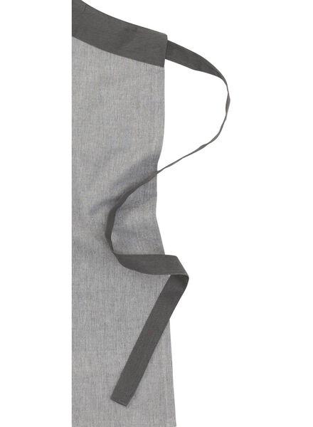 keukenschort - katoen - grijs - 5490204 - HEMA