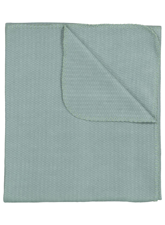 HEMA Fleece Plaid – 130 X 150 – Groen (groen)
