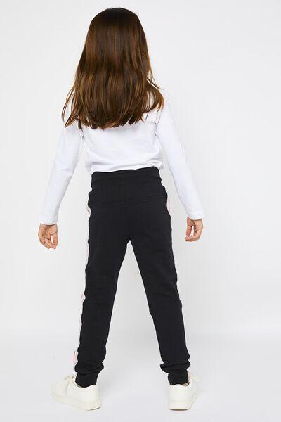 kinder sweatbroek zwart zwart - 1000021630 - HEMA