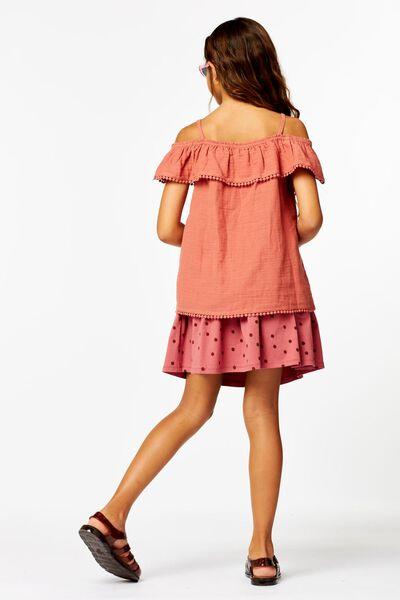 kinderrok stippen roze roze - 1000023798 - HEMA