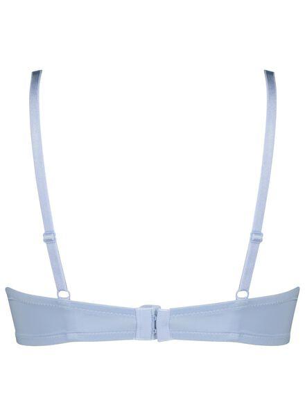 padded t-shirt bh micro blauw blauw - 1000015627 - HEMA