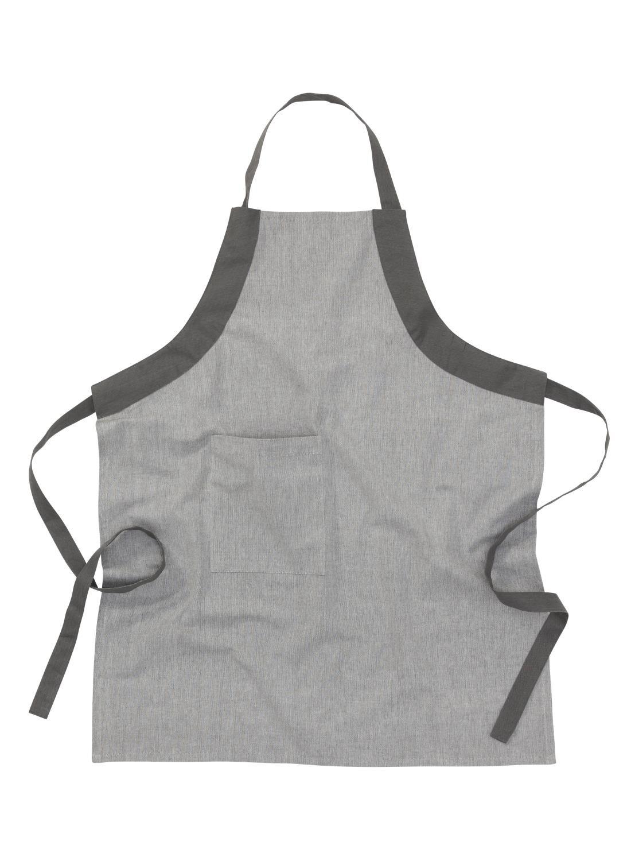HEMA Keukenschort - Katoen - Grijs (grijs)