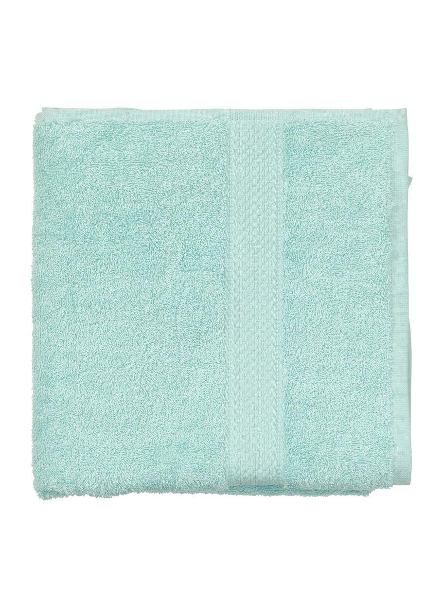 handdoek - 50 x 100 cm - zware kwaliteit - mintgroen uni