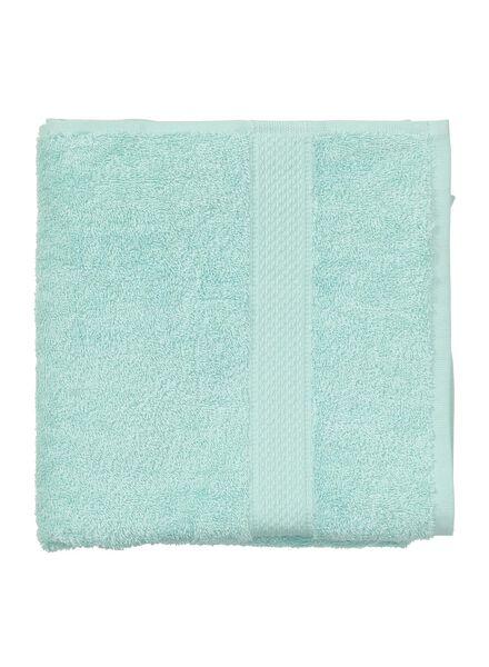 handdoek - 50 x 100 cm - zware kwaliteit - mintgroen uni - 5240002 - HEMA