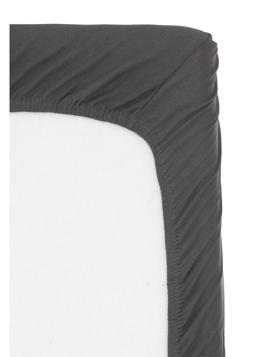 Hoeslaken Voor Topper Hema.Hoeslaken Topmatras Jersey Katoen 180 X 200 Cm Grijs Hema