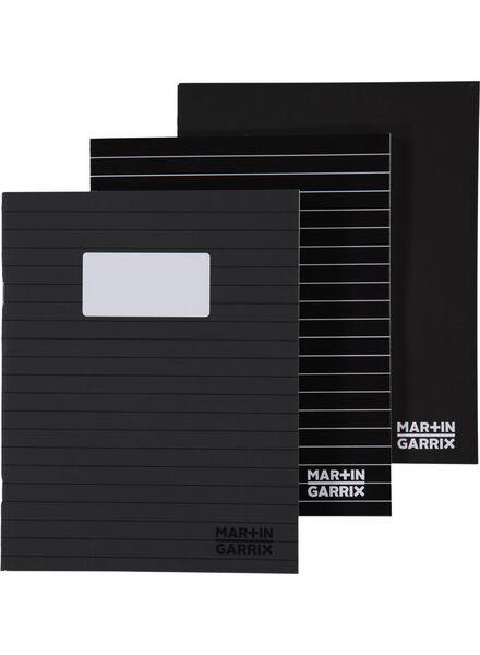 3-pak schriften A5 Martin Garrix - 14920155 - HEMA