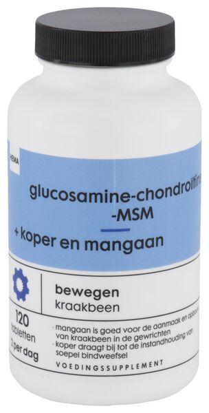 glucosamine-chondroïtine-MSM + koper en mangaan - 11402105 - HEMA