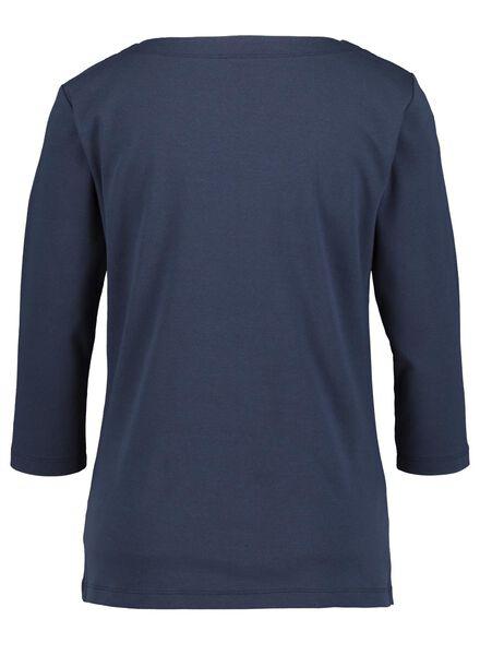 dames top donkerblauw donkerblauw - 1000014837 - HEMA